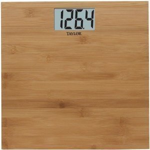 Image of TAYLOR 8657 DIGITAL LITHIUM BAMBOO SCALE (8657) - (AAC3001-TAP8657)