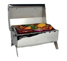 Camco 58145 Stainless Steel Portable Propane Gas Grill With Storage Bag Adhilyaahnanani2