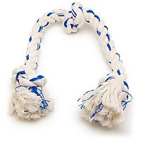 Booda Fresh N Floss 3 Knot Tug Rope Dog Toy, X-Large, Winter Mint
