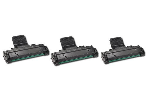 3 Pack Of New Compatible Samsung ML-2010D3 Toner Cartridges