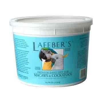 Image of Lafeber`s Premium Daily Diet Pellets for Macaws & Cockatoos (Blue, 5 lbs. ) (B001EUHZIU)