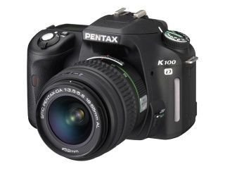 Pentax K100D Digital SLR Camera (18 - 55mm Lens Kit)