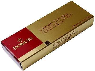 ドモーリ 希少カカオ クリオーロ種 チョコレート 6枚入 (6種類×各1枚/4.7g)
