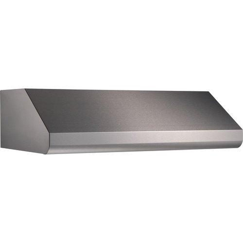 """Broan E64E42 1500 Cfm 42"""" Wide Stainless Steel Under Cabinet Range Hood With Hea, Stainless Steel front-449656"""
