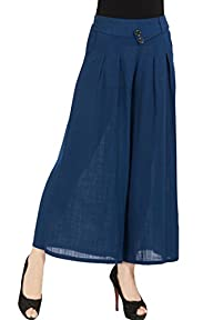 Clorys Womens Casual Banded Waist Wid…