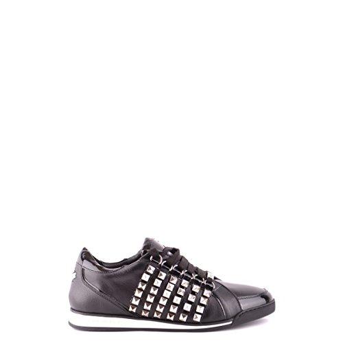 Dsquared2 Dsquared scarpe sneakers alte uomo in pelle nuove nero EU 43 W13 SN198 065