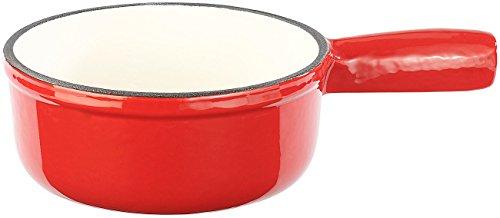 Rosenstein söhne &set à fondue en fonte émaillée, ø 16 cm