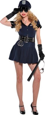 Womens Officer Rita Dem Rites Costume
