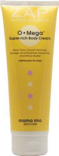Mama Mio OMega Super-rich Body Cream, 200ml, packed with Omega 3, 6 and 9 - you can never be too rich!