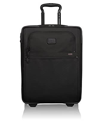 Tumi Alpha 2 International Wheel Slim Carry-On, Black, One Size