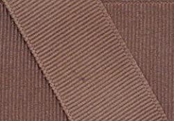 Grosgrain Ribbon 5/8 Inch 5 Yards Taupe