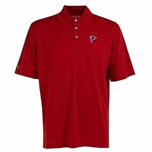 Atlanta Falcons Phoenix Waffle Weave Polo by Antigua