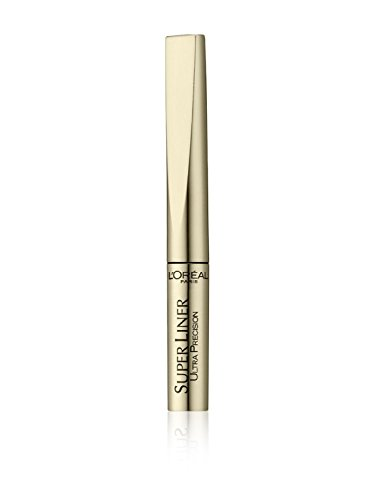 3x L' oréal Paris Superliner Ultra Precision Eye Liner Black-Gold Case