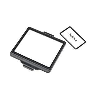 Neewer® Professional Optical Glass 67.4 x 51.2mm Camera LCD Screen Protector for Nikon D800 / D800E