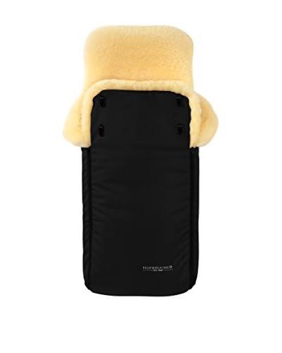 Hofbrucker seit 1948 Saco portabebés (piel de cordero) Luxus Negro