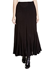 Per Una Textured & Panelled Maxi Skirt