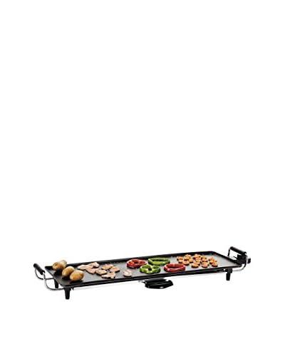 DOMOCLIP Elektrische bakplaat Teppanyaki Griglia zwart