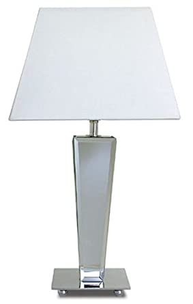 Tapered Mirror Base Table Lamp Lighting