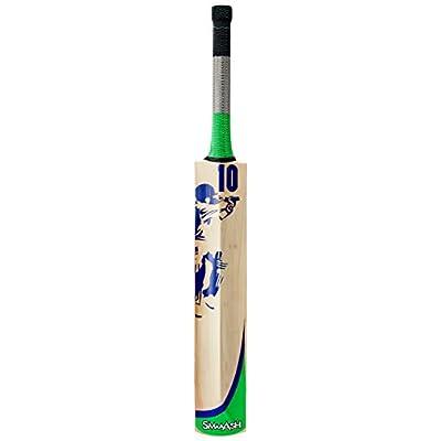 SS Smaash Green-Sma Kashmir Willow Cricket Bat, Short Handle