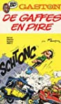 Gaston Tome N�13 - De Gaffes En Pire