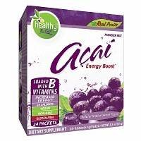 To Go Brands Acai Natural Energy Boost, Tropical Punch, .22 oz Pack of 2