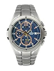 Festina Steel Collection Chronograph Textured Blue Dial Men's watch #F6798/5