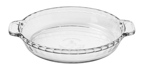 Anchor Hocking Oven Basics Deep Pie Plate, 9.5-Inch, Set Of 3
