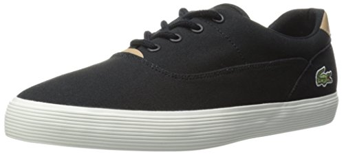 Lacoste Men's Jouer 316 1 Cam Fashion Sneaker, Black, 8 M US