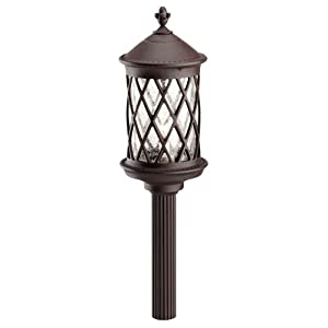 Click to buy Malibu Outdoor Lighting: Malibu Coach Light with Seedy Glass from Amazon!