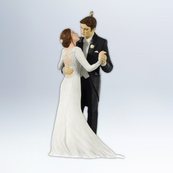 Edward And Bellas Wedding 2012 Hallmark Ornament