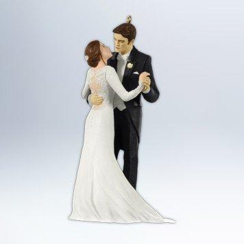 Edward And Bellas Wedding 2012 Hallmark Ornament