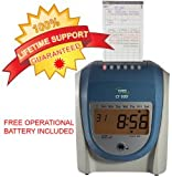 Icon time systems CT-900 Calculating Time Recorder with free lifetime support and operational battery backup