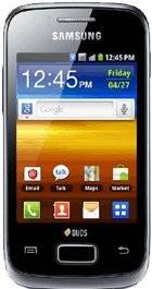 Techworld Samsung Galaxy Y Duos S6102 Dual Sim Android White Black Friday & Cyber Monday 2014