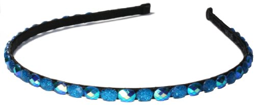 LibbySue-Tonal Crystal Thin Headband