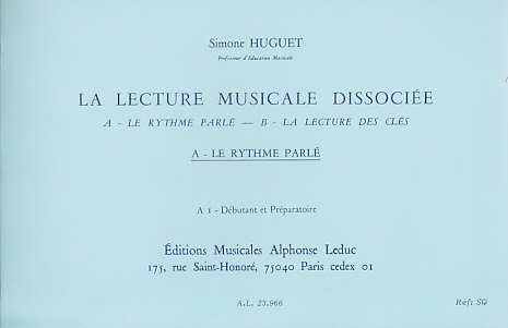 leduc-huguet-lecture-musicale-dissociee-a-le-rythme-parle-educational-books-musical-theory