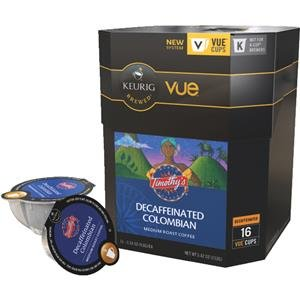 Keurig Timothy'S Colombian Decaf Vue® Cup, 16 Count