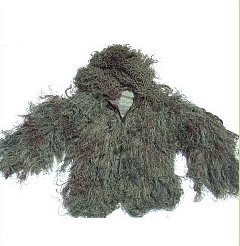 GhillieSuits Suit Jacket Leafy Large
