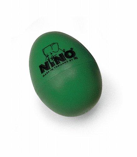 Nino Percussion NINO540L-GR Plastic Egg Shaker (Green)