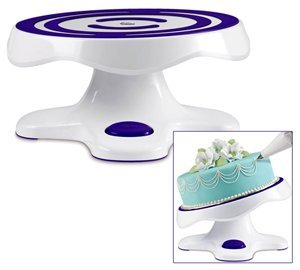 Wilton Revolving Cake Stand - Tilting (Tilting Turntable compare prices)