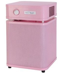 Austin Air HM205 Air Purifier Allergy Machine Jr. Pink