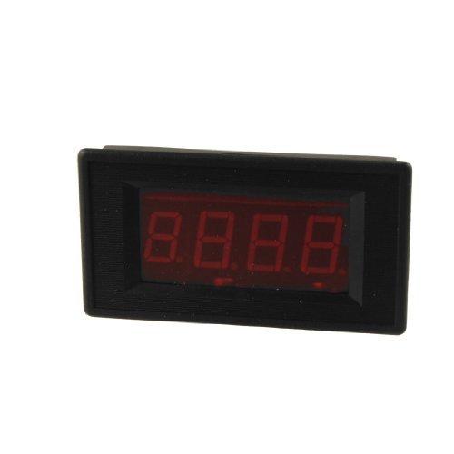 Water & Wood Red Led Digital Display Ac 0-300V Voltage Test Panel Voltmeter