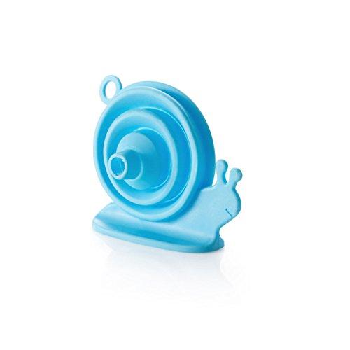 y-b-multifonction-mini-escargot-en-silicone-style-entonnoir-pliable-bleu