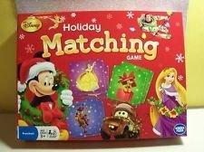 Disney Holiday Matching Game