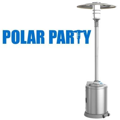 Artic Cove 18-Volt Polar Party Music, Misting, and Light Tower - Patio Accessory