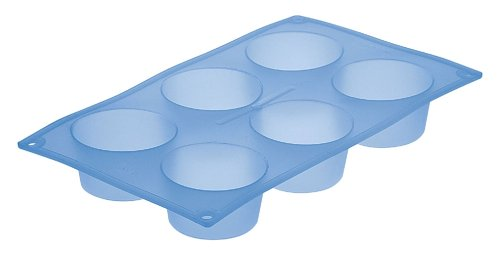 Le Creuset Silicone Cook N Bake 6-Cup Muffin, Blue Mist - Buy Le Creuset Silicone Cook N Bake 6-Cup Muffin, Blue Mist - Purchase Le Creuset Silicone Cook N Bake 6-Cup Muffin, Blue Mist (Le Creuset, Home & Garden, Categories, Kitchen & Dining, Cookware & Baking, Baking, Muffin & Popover Pans)