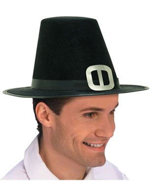 Pilgrim Man Hat Costume Accessory