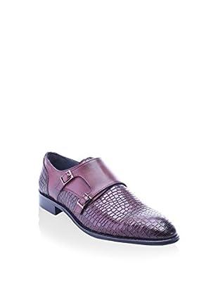 Deckard Zapatos Monkstrap (Burdeos)