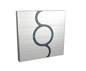 dr 1 designer chrome touch light switch 1 gang on off kitchen. Black Bedroom Furniture Sets. Home Design Ideas