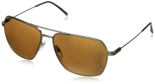 Electric Av2 Aviator Polarized Sunglasses,Gold,164 Mm