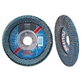 "4-1/2"" X 7/8"" Polifan Curve Flap Disc Zirconia, Sold As 1 Each"